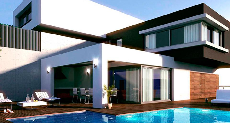 Construccion en seco arquitectura de hoy for Modelos de techos metalicos para casas